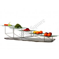 Buffet stand five  layer wave