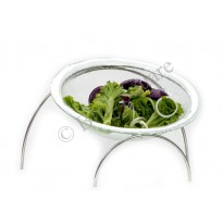 Glass bowl for Buffet stand  Leaning stand for bowl stand