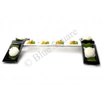 Buffet stand conveyor shape